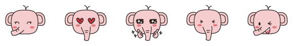 코끼리캐릭터