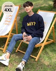 편안한 소프트 밴딩 데님팬츠S~4XL(28~42)